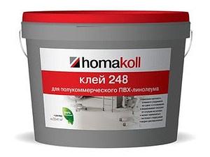 Клей Homakoll 284 14кг/банка для линолеума